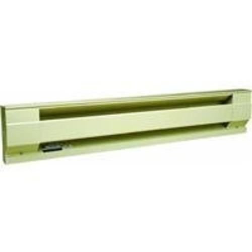 2500W, 8 Feet Electric Baseboard Heater in Almond