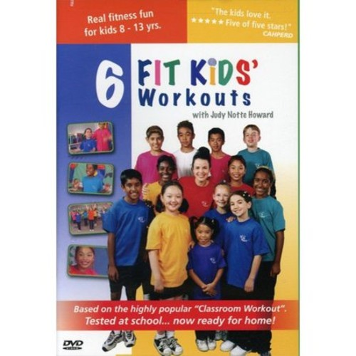 6 Kids Fit Kids' Workouts (DVD) (Colorized) (Eng) 2008
