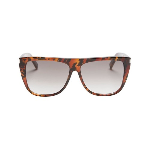 SAINT LAURENT Animal Print Sunglasses
