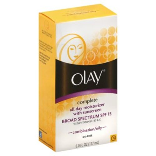Olay 6 oz.Complete All Day Moisturizer Broad Spectrum SPF 15 Combination Oily