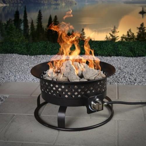 Aurora Steel Gas Firebowl, Rubbed Bronze