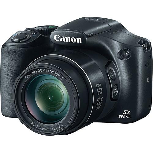 Canon PowerShot SX530 HS 16 Megapixel Digital Camera, Black
