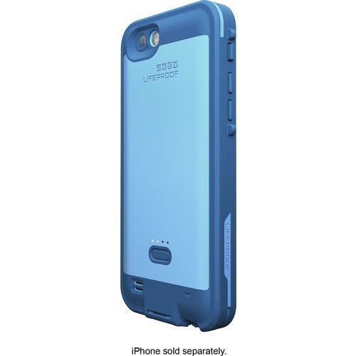 LifeProof - FRE Power Case for Apple iPhone 6 and 6s - Blue