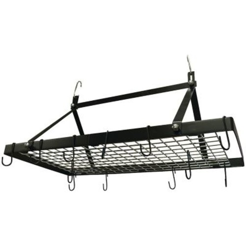 Range Kleen CW6013 Black Enamel Rectangle Pot Rack