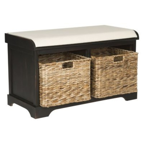 Safavieh Freddy Storage Bench in Brown