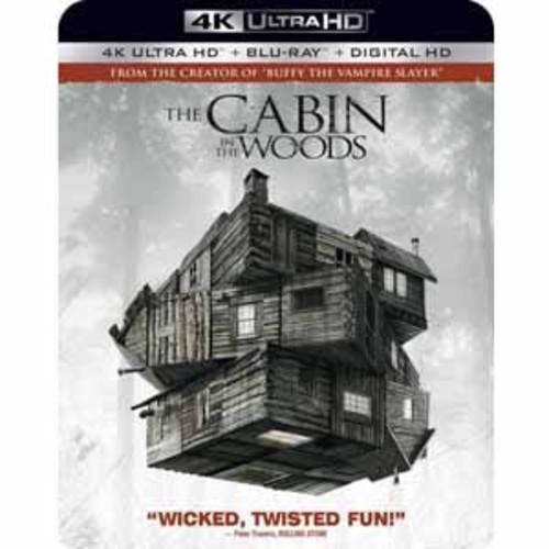 Cabin in the Woods [4K UHD] [Blu-Ray] [Digital HD]