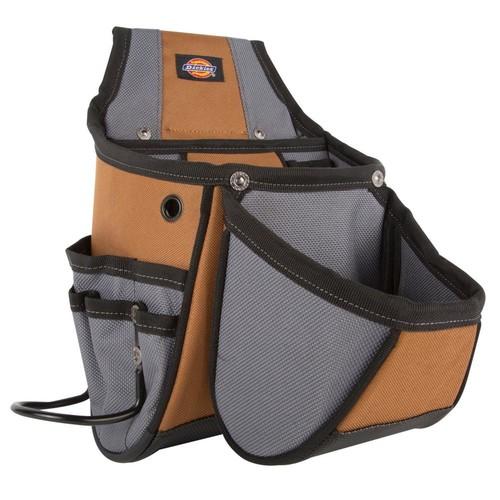 Dickies 13-Pocket Utility Kickstand Pouch Grey / Tan