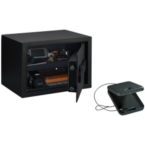 Stack-On Electronic Personal Safe with Portable Combination Security Case