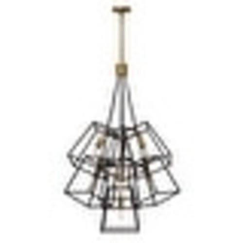 Hinkley Lighting 3357 7 Light Large Multi Light Pendant from the Fulton Collection