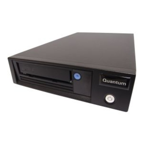Quantum LTO-6 HH - Tape drive - LTO Ultrium ( 2.5 TB / 6.25 TB ) - Ultrium 6 - SAS-2 - external - encryption - with SAS HBA, Deduplication Software