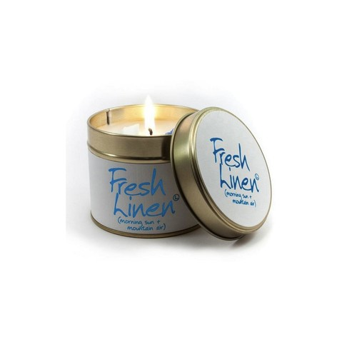 Linen Scented Candle