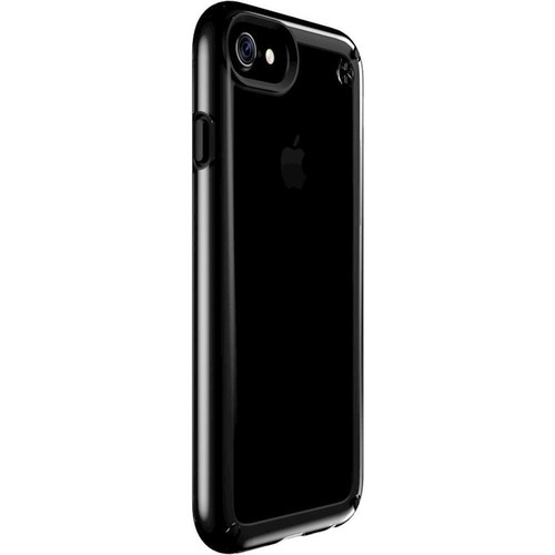 Speck - Presidio Show Case for Apple iPhone 7 - Black/Clear