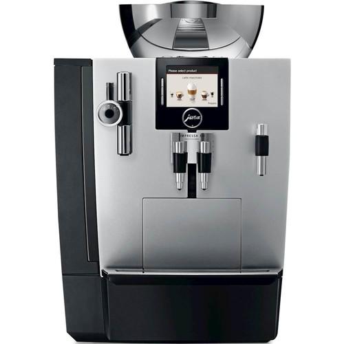 jura - Impressa XJ9 Professional Espresso Maker/Coffeemaker - Brilliant Silver