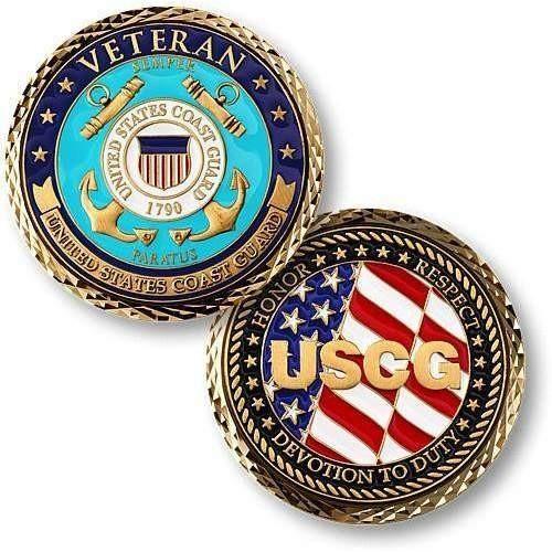 Coast Guard Veteran Coin [Title :]