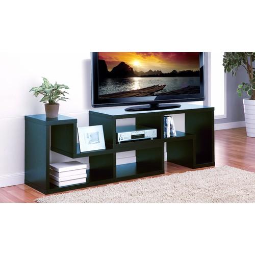 Furniture of America Mastens 2-Piece Display Media Shelf