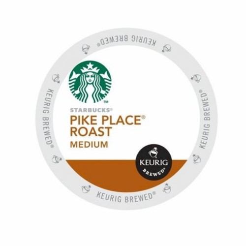 Starbucks Pike Place Roast, K-Cup for Keurig Brewers, 24 Count [24 Count]