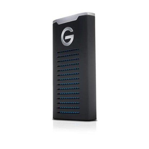 G-Technology G-DRIVE R-Series Mobile SSD - 500GB Capacity, External, USB 3.1 Gen2/Type-C, Up to 560MB/s Transfer Rate, IP67 Water & Dust Resistance, Shock Resistant, Compatible w/ PC/MAC - 0G06052