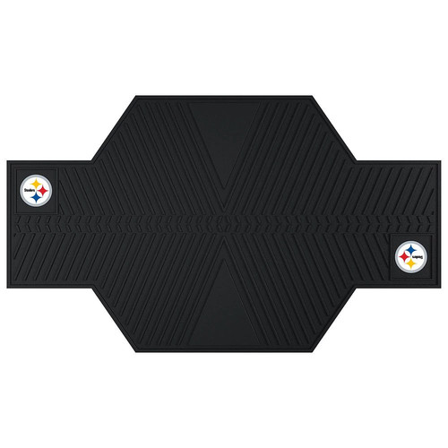 FANMATS NFL - Pittsburgh Steelers Motorcycle Utility Mat