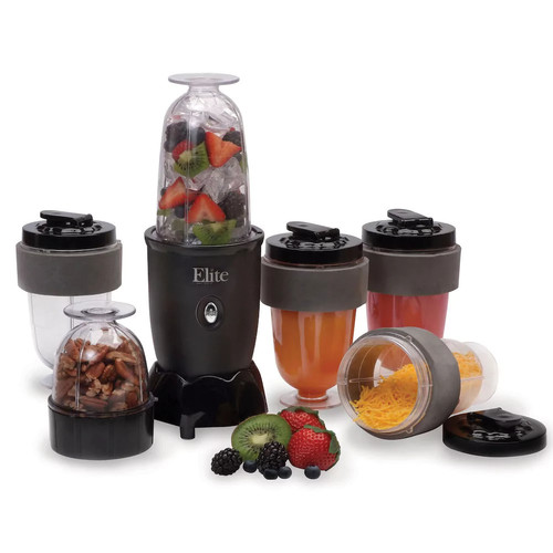 Maxi-Matic EPB-1800 Elite Cuisine 17 pc. Personal Drink Blender