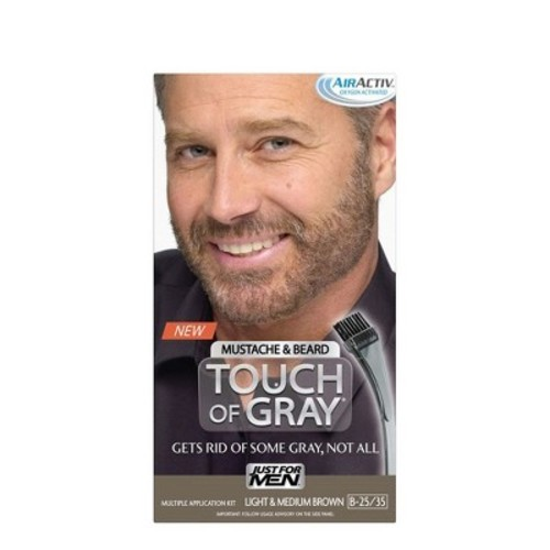 Just For Men Touch Of Gray Mustache and Beard
