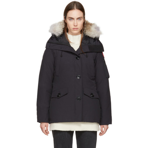 Navy Down Montebello Parka