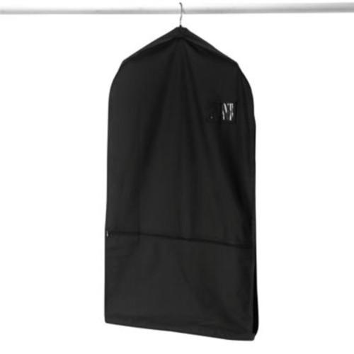 Whitmor Deluxe Garment Bag with Pocket in Black