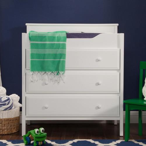 DaVinci 3-Drawer Changer Dresser, White
