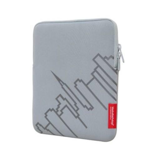 Manhattan Portage Ipad Sleeve Skyline Silver (1050 SIL)