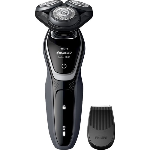 Philips Norelco - 5100 Wet/Dry Electric Shaver - Charcoal Grey/Pike White