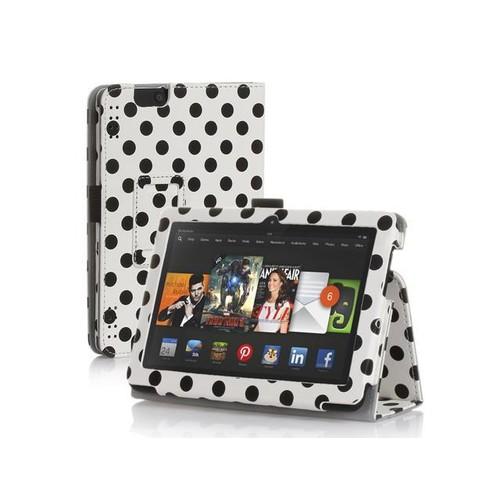 Amazon Kindle Fire HDX 7 Case - Slim Folio Leather Case Cover Stand For Amazon Kindle Fire HDX 7 7