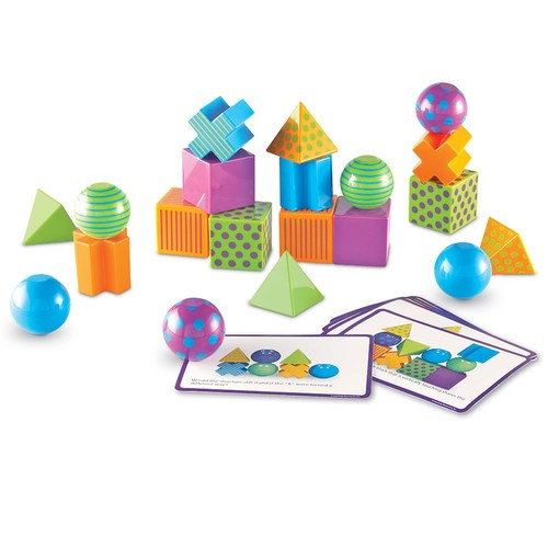 Learning Resources Critical Thinking Block Activity Set - Set of 20