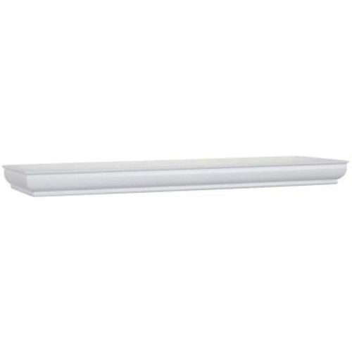 Home Decorators Collection 36 in. L x 8 in. W Profile White Shelf
