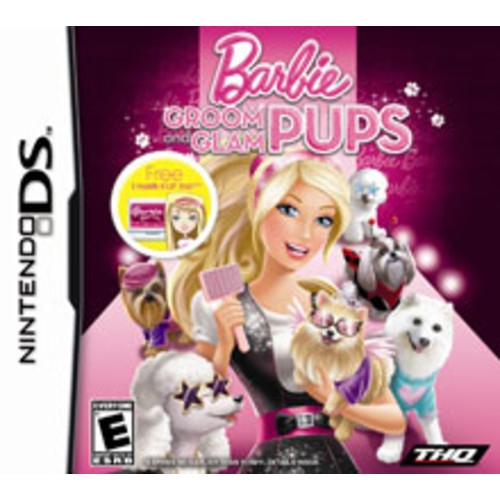 Barbie Groom and Glam Pups [Pre-Owned]