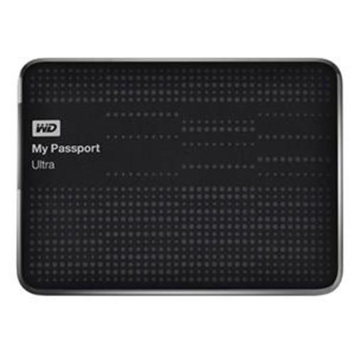 WD My Passport Ultra 1.5 TB Portable External Hard WDBMWV0015BBK-NESN