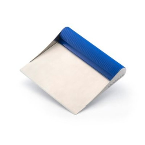 Rachael Ray Stainless Steel Bench Scrape in Blue