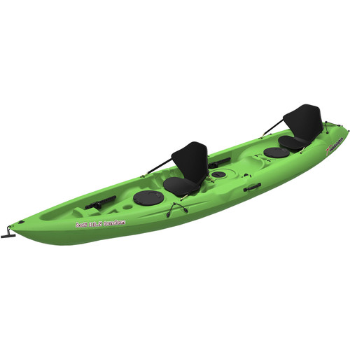 Sun Dolphin Bali 13.5 ft. SS Tandem Sit-On Kayak in Lime