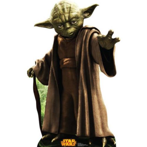 Star Wars Yoda Cardboard Standup