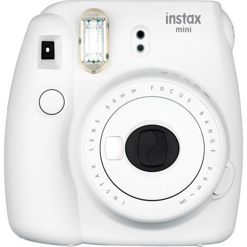 Fujifilm - instax mini 9 Instant Film Camera - Smokey White