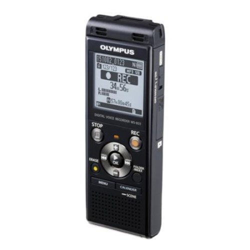Olympus Ws-853 8gb Digital Voice Recorder - 8 Gbmicrosd Supported - Mp3 - Headphone - 2080 Hourspeacerecording Time - Portable (v415131bu000)