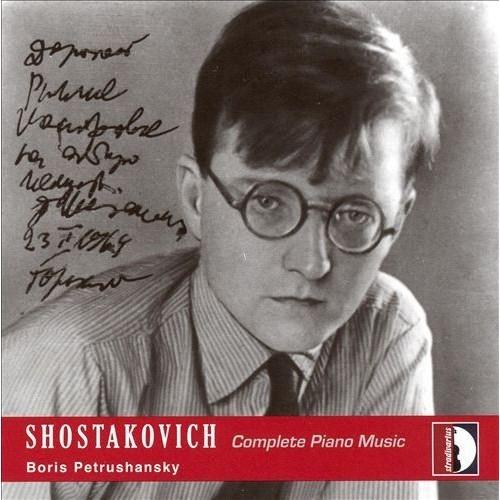 Shostakovich: Complete Piano Works [CD]