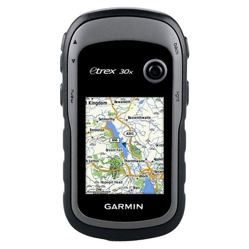 Garmin eTrex 30x GPS with Western Europe Maps 2017 [count : 1]