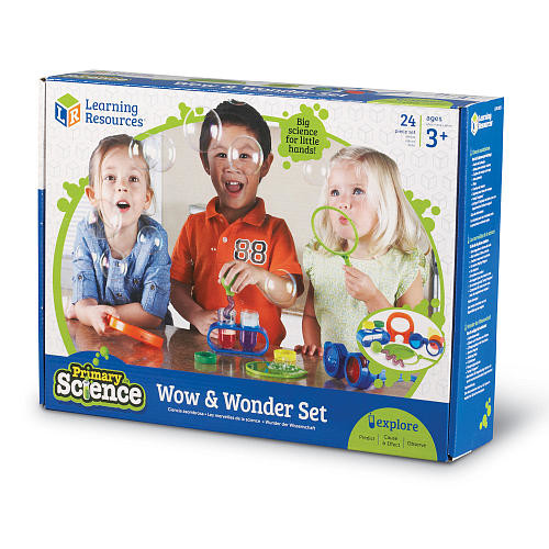 Learning Resources Primary Science Wow and Wonder Set