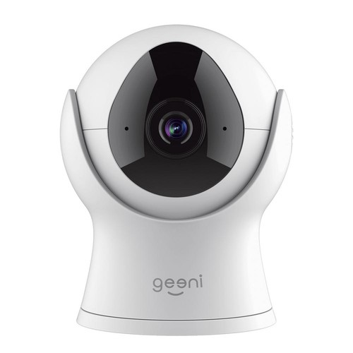 Geeni VISION 720p Smart Wi-Fi Security Camera HD, White