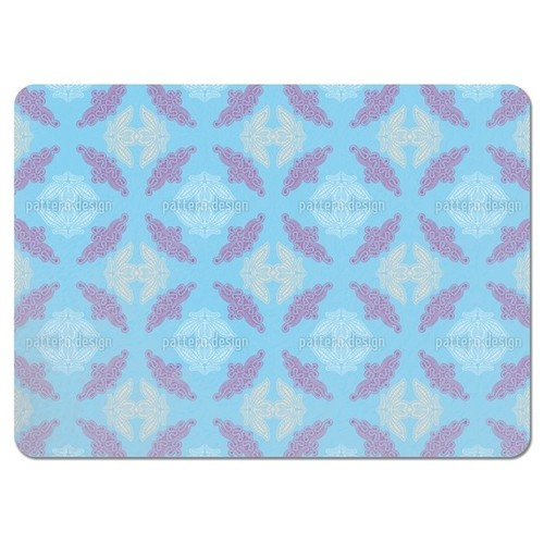 Lacy Ida Blue Placemats (Set of 4)