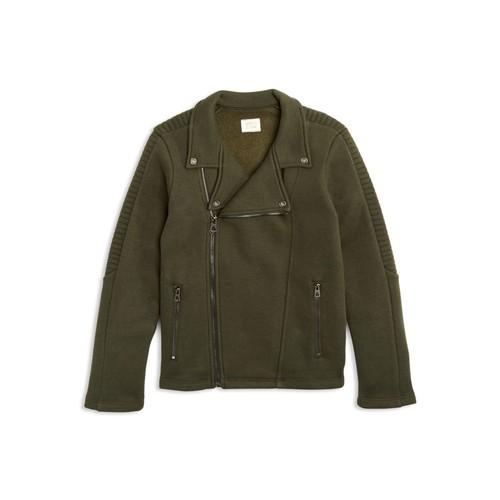 Boys' Terry Moto Jacket - Big Kid