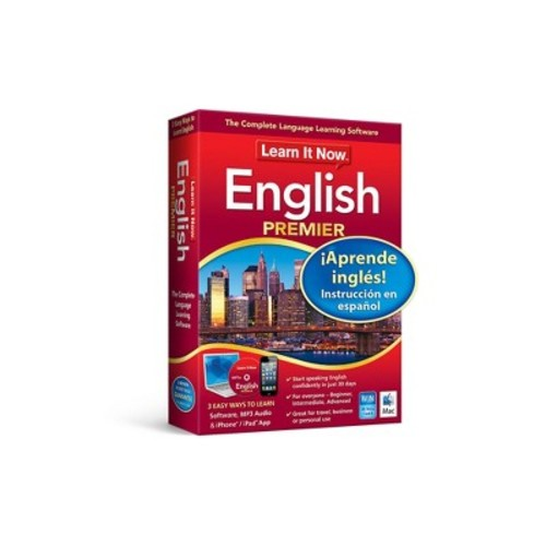 Avanquest Learn it Now: English Premier- MAC - Email Delivery