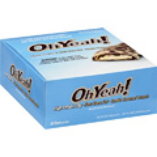 ISS Oh Yeah! Protein Bars, Cookie Caramel Crunch 12 bars [Cookie Caramel Crunch, 12]