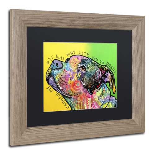 Dean Russo 'Lick You to Death' Matted Framed Art [option : 11x14]