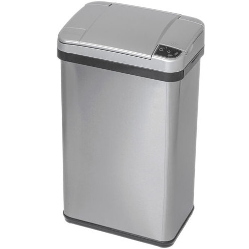 iTouchless 4-Gal. Stainless Steel Multifunction Sensor Trash Can