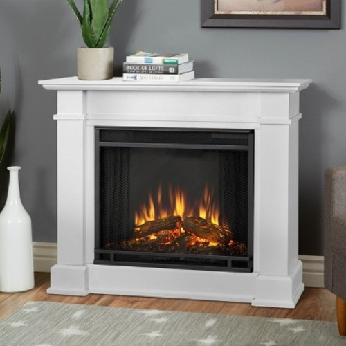 Real Flame - Devin Electric Fireplace - Dark Espresso